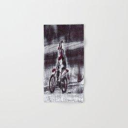 Moto Christmas Hand & Bath Towel
