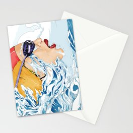 The Swimmer Stationery Cards