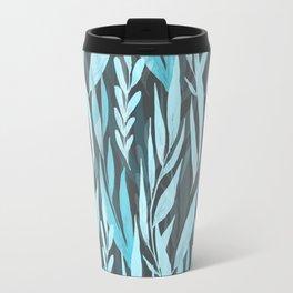 Watercolor Spring Leaves IX Travel Mug