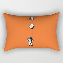 Niño moon Rectangular Pillow