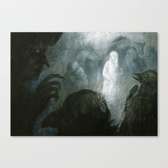 7Ravens - Whispers Canvas Print