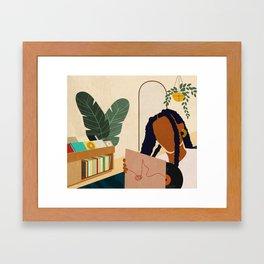 Stay Home No. 4 Framed Art Print