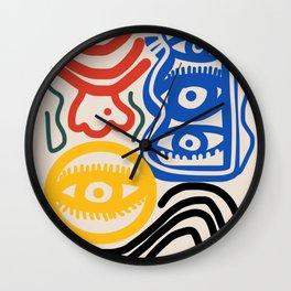 Candid man Wall Clock