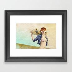 #SENDDECKPICS 1 Framed Art Print