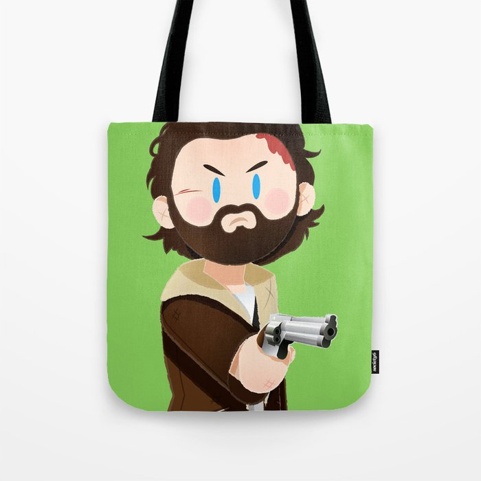 Little Warriors: Rick Tote Bag