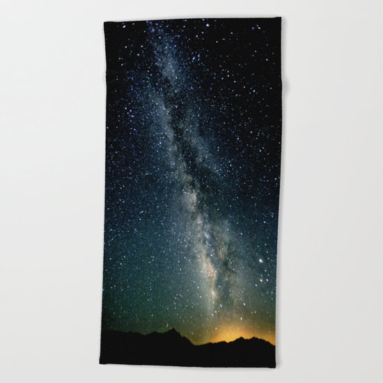 The Milky Way Beach Towel