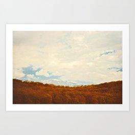 Winterfall Art Print