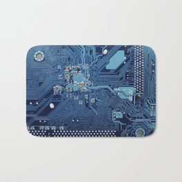 Electronic circuit board Bath Mat