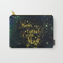 Books Are a Uniquely Portable Magic Carry-All Pouch