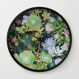 suucu garden Wall Clock