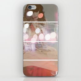 Lost In Thought Woman iPhone Skin