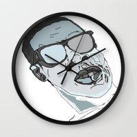 jay z Wall Clocks featuring Jay Z. by BlvckBewty