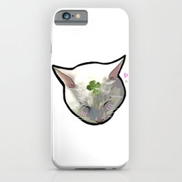 So Soft, So Pure iPhone Case