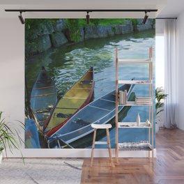Canoe Tulip Wall Mural
