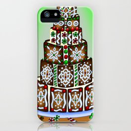 Christmas Artwork #5 (2017) iPhone Case