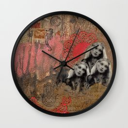 Moirea Wall Clock