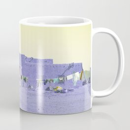 Moroccan Dar in Purple Coffee Mug