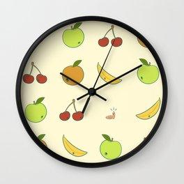 Little Greedy Worm Wall Clock