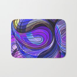 So Nothing Is Created Perfect - Disturbed Sunsets Bath Mat