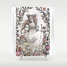 Fairy Ring Maiden Shower Curtain