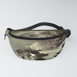 Turtle Pond Under Ice Fanny Pack