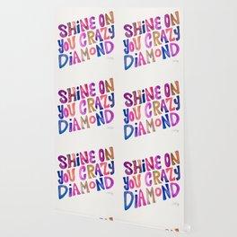 Shine On Your Crazy Diamond – Vintage Palette Wallpaper