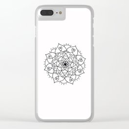 Not The End Clear iPhone Case