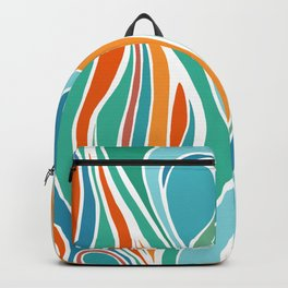 Campfire Abstract Backpack