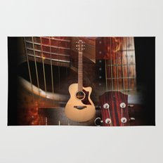 The Acoustic Guitar  Rug