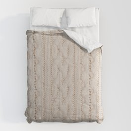 knitted texture Comforters