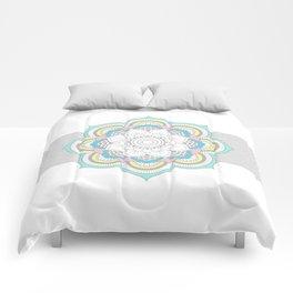 Pastel Mandala Comforters