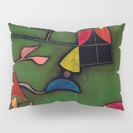 """Paul Klee """"Pflanze und Fenster Stilleben (Still life with Plant and Window)"""" Pillow Sham"""