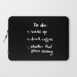 shatter the glass ceiling Laptop Sleeve