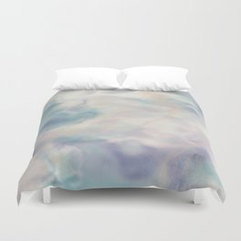 Unicorn Marble Duvet Cover
