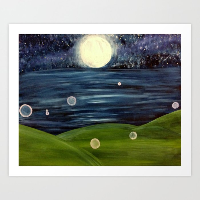 Cosmic Realms Art Print