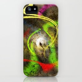Time comes and goes iPhone Case