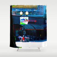burlesque Shower Curtains featuring Oregon Burlesque Fest by Jeffrey J. Irwin