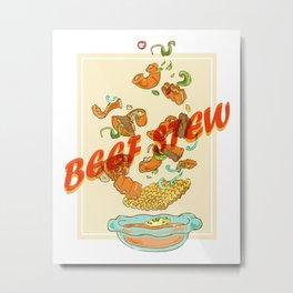 Vietnam Food Beef Stew Metal Print