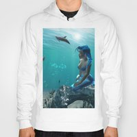 underwater Hoodies featuring Underwater by nicky2342