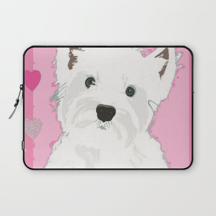 West Highland Terrier Laptop Sleeve