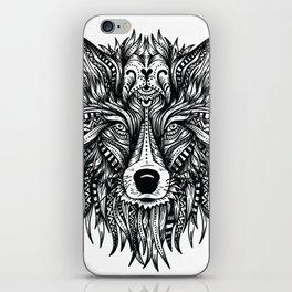Wolfs head iPhone Skin