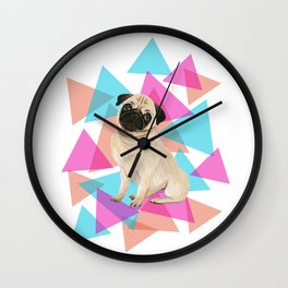 It's a pup's world Wall Clock