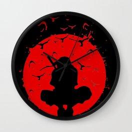 uchiha Itachi shadow Wall Clock