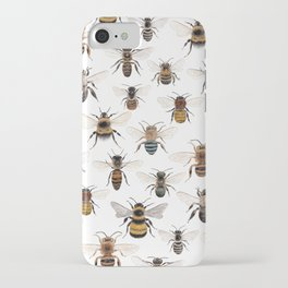 A Collection of Native Bees iPhone Case