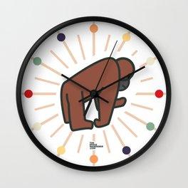 Radiant Orang Utan. Wall Clock
