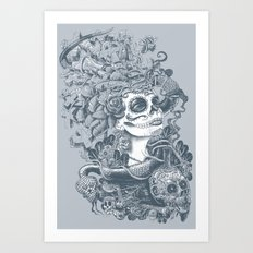 Do of the Dead Art Print
