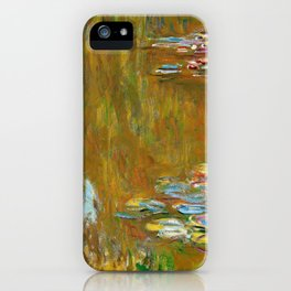 The Water Lily Pond - Claude Monet iPhone Case