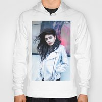 charli xcx Hoodies featuring Charli XCX by behindthenoise