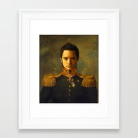 replaceface Framed Art Prints featuring Elijah Wood - replaceface by replaceface