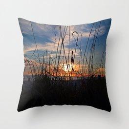 Seaside Sway Throw Pillow